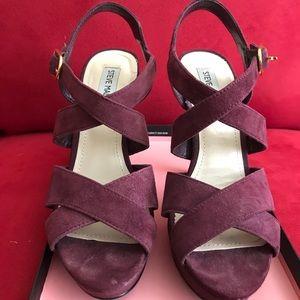 Steve Madden burgundy heels